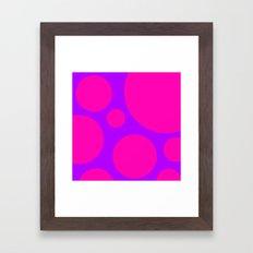 Poison Mushroom Framed Art Print