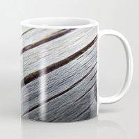 Rustic Wooden Floor (gre… Mug