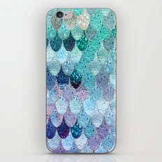 SUMMER MERMAID II iPhone & iPod Skin