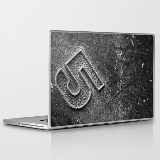 Number 5 Laptop & iPad Skin