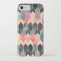 iPhone Cases featuring Stained Glass 3 by Elisabeth Fredriksson