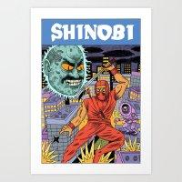 Shinobi Art Print