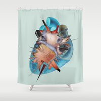 First-love Moment  Shower Curtain