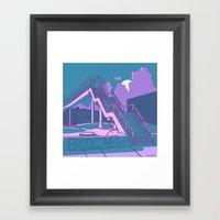 Brooklyn Street Skate Pa… Framed Art Print