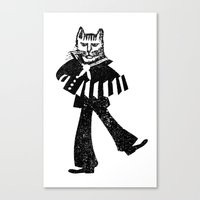 Sailor Jack the Cat Canvas Print