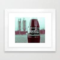 Urban cola Framed Art Print