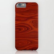 Wood Red iPhone 6 Slim Case