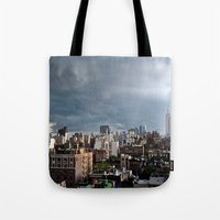 Taking The City By Storm Tote Bag