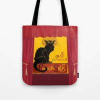 Le Chat D'Amour With The… Tote Bag
