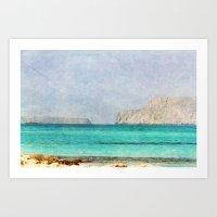 At Sea 4 Art Print