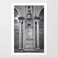 Stone and Sky Art Print