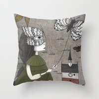 Oda (An All Hallows' Eve… Throw Pillow