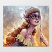 The Carnival Spirit Canvas Print