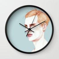 Boy Bruised Wall Clock