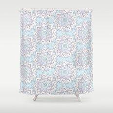 Mandala Pattern Shower Curtain