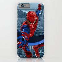 iPhone & iPod Case featuring Amazing Spider-Man (Comic Title) by C Rhodes Design