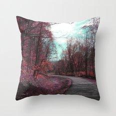 Passing Through II Throw Pillow
