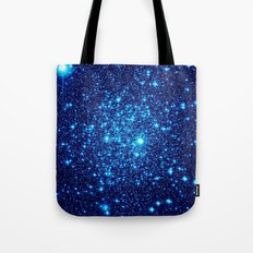 Vivid Blue gALaxY  Tote Bag