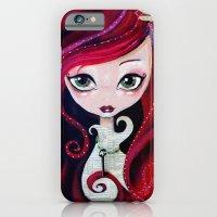 Red Portrait iPhone 6 Slim Case