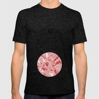 The red mask Mens Fitted Tee Tri-Black SMALL