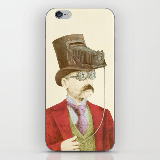 The Photographer iPhone & iPod Skin