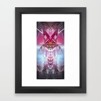 Spinal Tyrant Framed Art Print