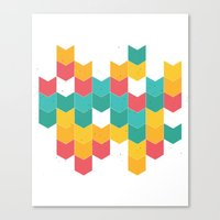 Little Colors Canvas Print