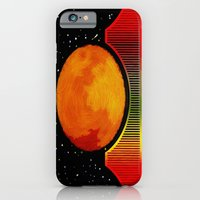 iPhone & iPod Case featuring Night on the City - 006 by Lazy Bones Studios