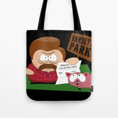 South Parks and Rec Tote Bag