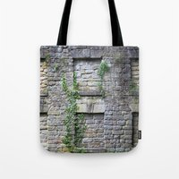 Wall Of Privacy Tote Bag