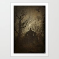 Horror House Art Print