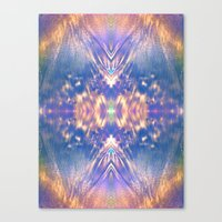 LAVENDER HALO Canvas Print