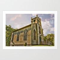 Forgotten Church Art Print