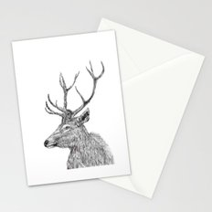 stag n.1 Stationery Cards