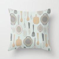 kitchen Throw Pillow