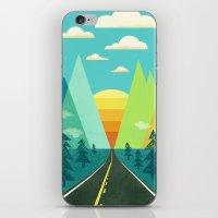 the Long Road iPhone & iPod Skin