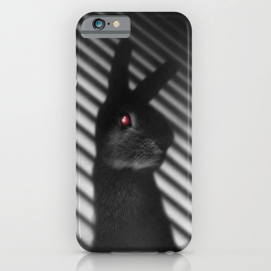 Shadow Bunny iPhone & iPod Case