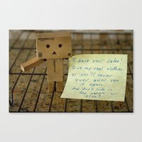 I Have Your Cake... Canvas Print