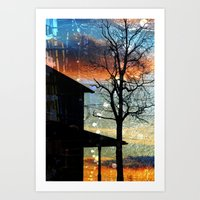 Winter Electric Art Print