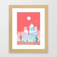 Signal Framed Art Print