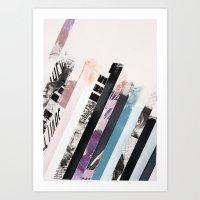 STRIPES 11 Art Print