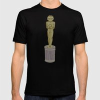 Oscar Mens Fitted Tee Black SMALL