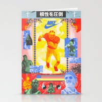 Charles Woodson Dazzles The Space Babe and Other Spectators, Nike Air Max Swamp Gut Bowl 1997 Stationery Cards