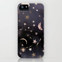 iPhone 5s & iPhone 5 Cases featuring Constellations  by Nikkistrange