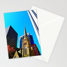 The Old & the New Stationery Cards