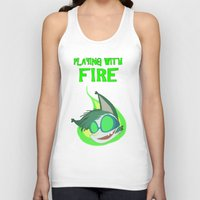 Fighting Dreamers- Power… Unisex Tank Top