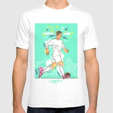 CR7 Mens Fitted Tee White SMALL