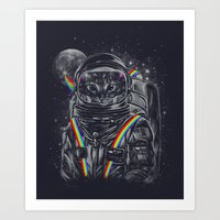 Space Mission Art Print