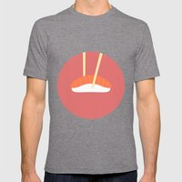 #16 Sushi Mens Fitted Tee Tri-Grey SMALL