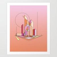City Movements 01 Art Print